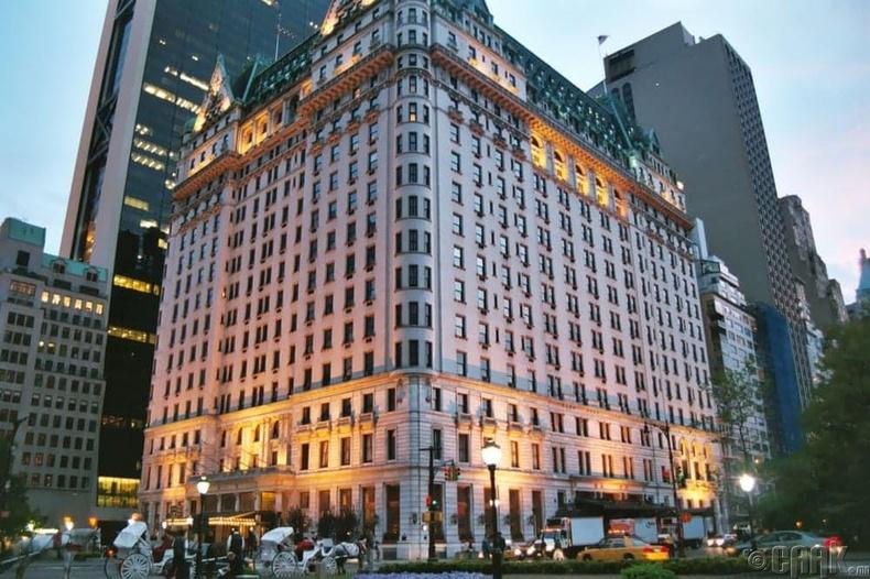 """The Plaza Hotel"" - Нью-Йорк"