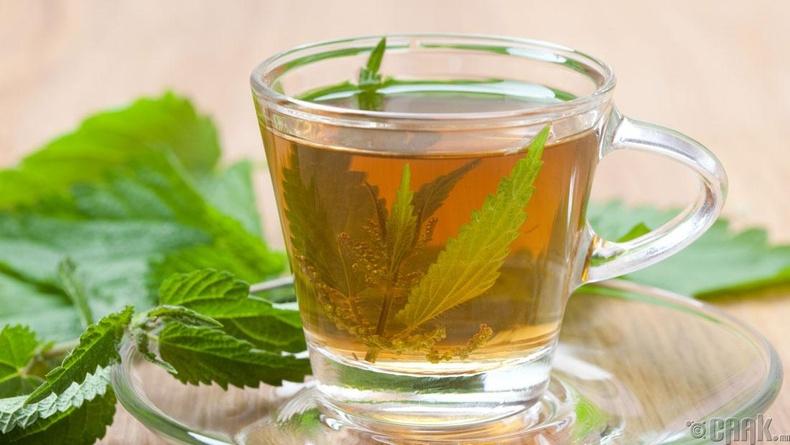 Бөөр цэвэрлэх цай уух