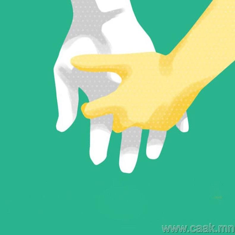 Хуруугаа зөрүүлж, сулхан хөтлөлцдөг бол...