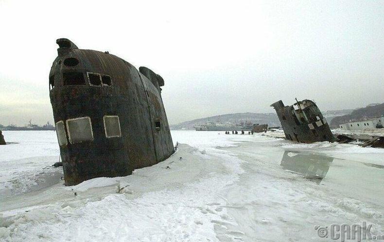 Владивосток дахь шумбагч онгоцнууд