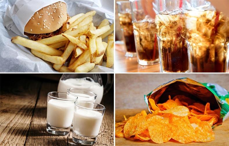 Өвдсөн үедээ хэзээ ч идэж болохгүй хоолнууд