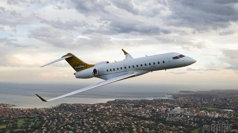 """The Bombardier Global Express"" нисэх онгоцыг 42 сая доллараар худалдаж авсан"
