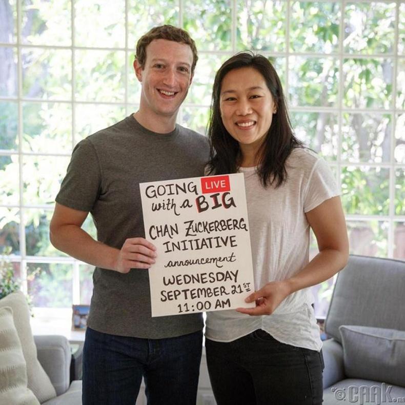 Марк Зукерберг, Присчилла Чан (Mark Zuckerberg, Priscilla Chan)