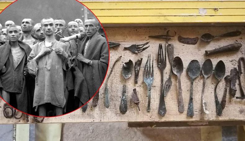 Аушвицийн хорих лагерийн шатаах зуухнаас хоригдлуудын нуусан эд зүйлсийг олжээ