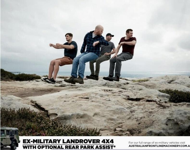 Ухрах камертай Landrover 4x4 машины сурталчилгаа