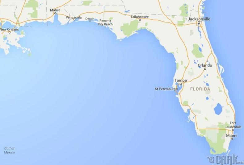 Бид бодохдоо: Флорида мужийн эргийн шугам Америкдаа хамгийн урт