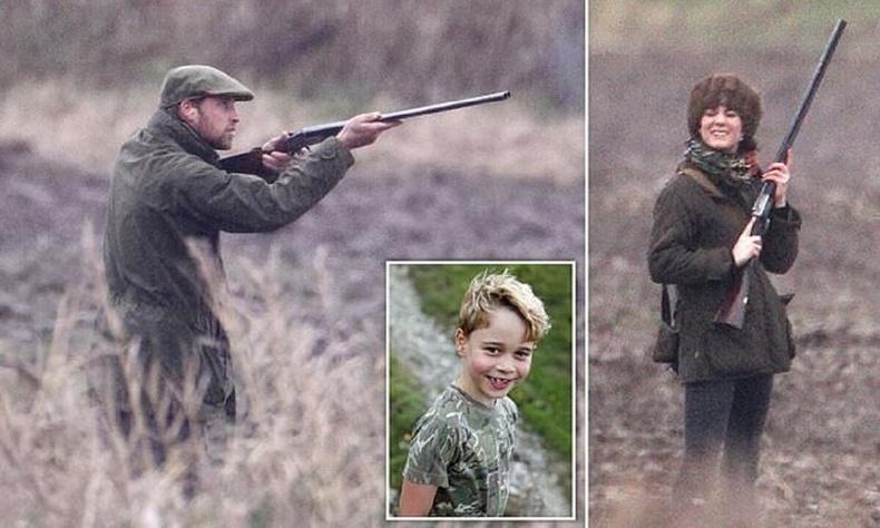 Хүүтэйгээ хамт анд явсан ханхүү Уильямийг байгал хамгаалагчид эвгүй байдалд оруулжээ