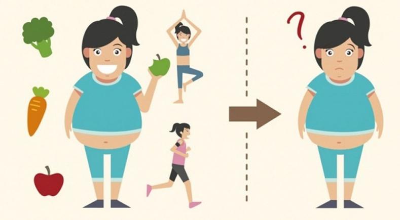 Зөв хооллоод байхад яагаад жин хасдаггүй вэ?