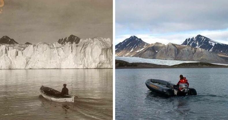Хойд туйл 100 жилийн дотор хайлсан нь