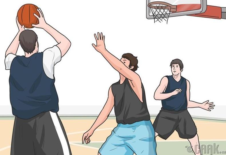 Спортоор хичээллэх