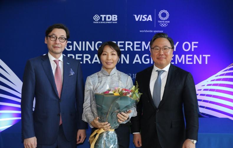"""МУГТ М.Уранцэцэг нь олимпын тамирчдад зориулсан """"Team Visa"""" хөтөлбөрт орсон Монгол улсын анхны тамирчин боллоо"""