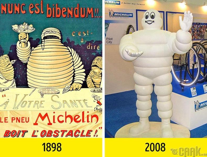"""""""Michelin""""-ий хөвсгөр залуугийн нэрийг """"Bibendum"""" гэдэг"""
