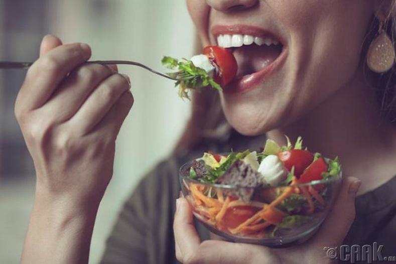 Хоолоо хэрхэн зажилж идэх вэ?