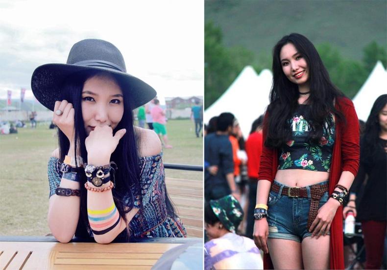 Монголын үзэсгэлэнт охид (70 фото) №150