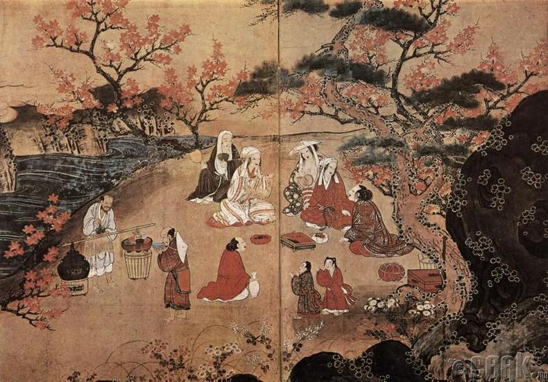 Хог түүдэг эртний Япончууд