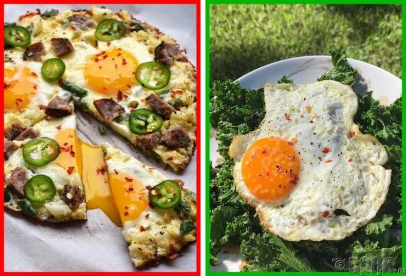 Өндөг холестериний түвшинг нэмэгдүүлэхгүй