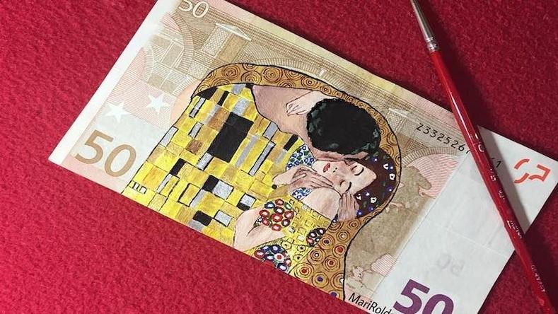 Мөнгөн дэвсгэртийг урлагийн бүтээл болгон хувиргадаг хосгүй авьяастай Испани уран бүтээлч