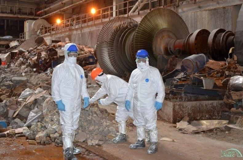 Чернобылийн онцгой бүсийн ажилчид