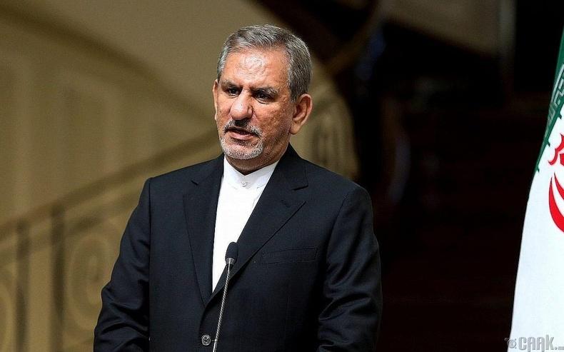 Ираны дэд ерөнхийлөгч Эшак Жахангири