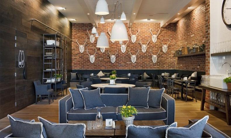 Мельбурн дэхь өвөрмөц дизайнтай Кафе