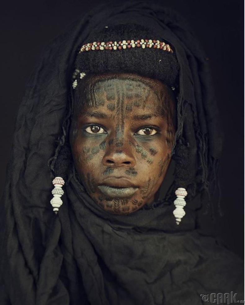 Нигерийн Водаабе овгийн эрэгтэй