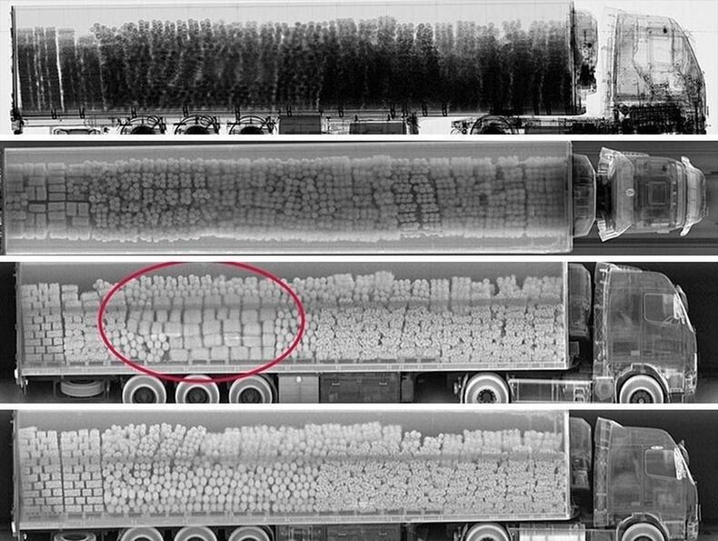 Рентген нь хилээр ямар бараа нэвтрүүлж байгааг илрүүлэхэд маш тустай