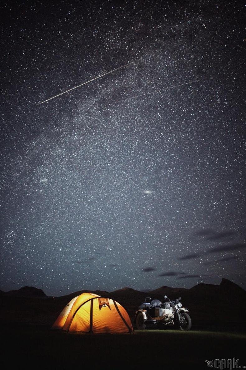 Монголын шөнийн тэнгэрийг юутай ч зүйрлэшгүй