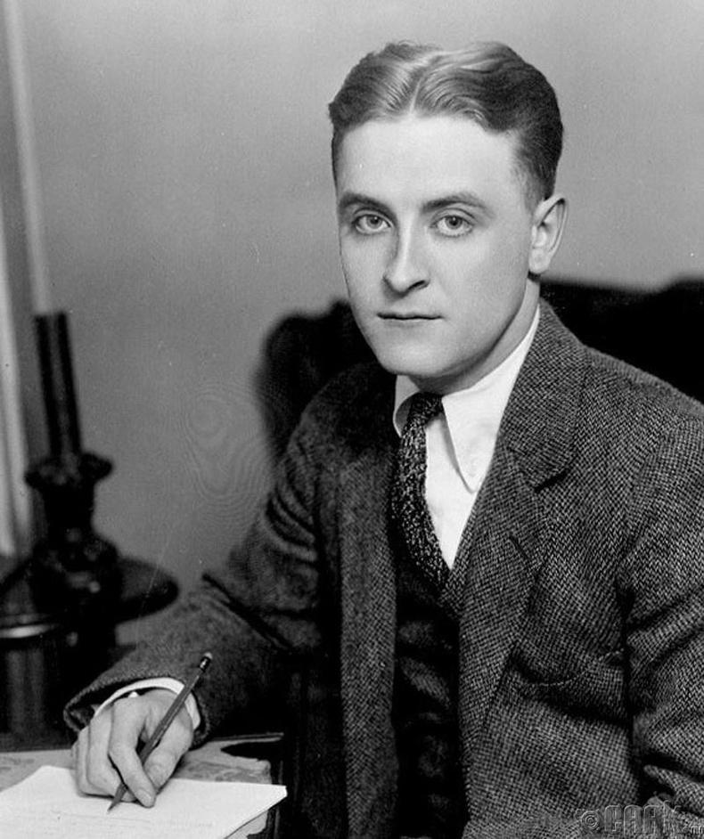 """""""Агуу Гэтсби""""-ээр нь бидний сайн мэдэх зохиолч Скотт Фицжералд (Scott Fitzgerald)"""