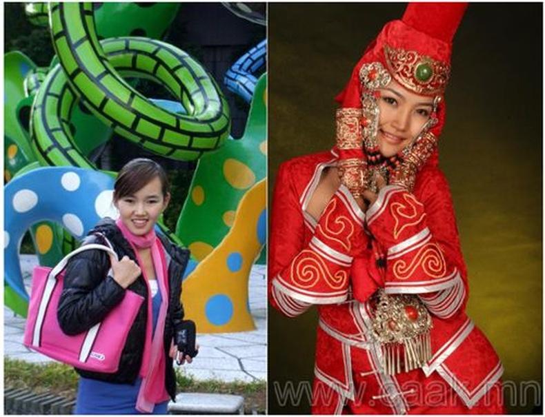 Монголын vзэсгэлэнт охид (62 Фото)