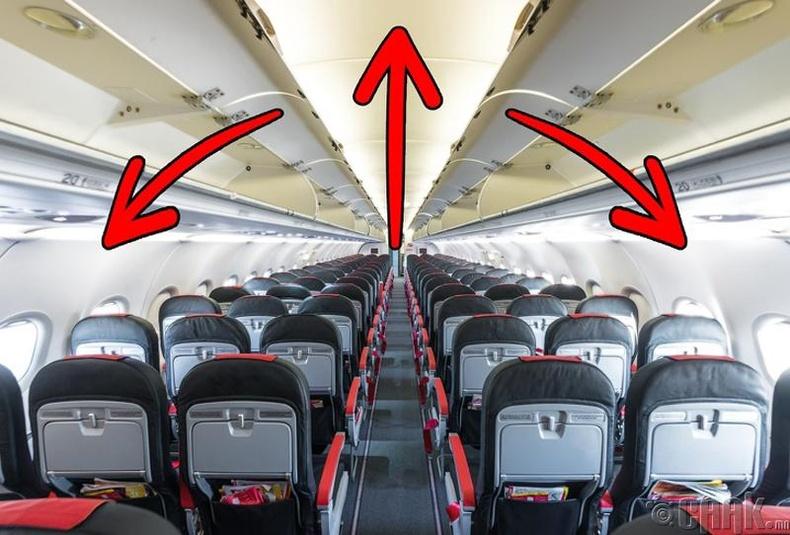 Онгоцны талбайг илүү том харагдуулах арга