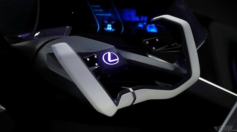 """Lexus LF-30"" машины дотор салон"
