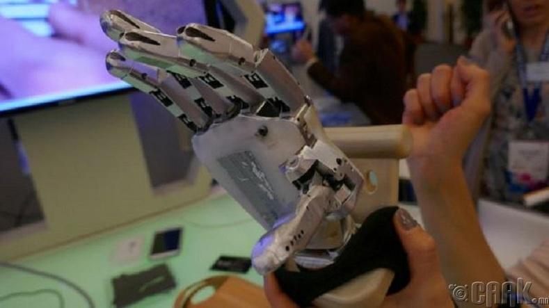 Робот гар, хөл