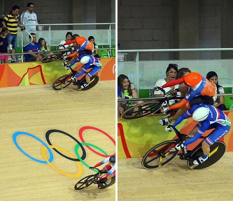 """""""Ханаар явагч"""" Нидерландын дугуйчин Лорин Ван Рисен Риогийн Олимпын үеэр"""