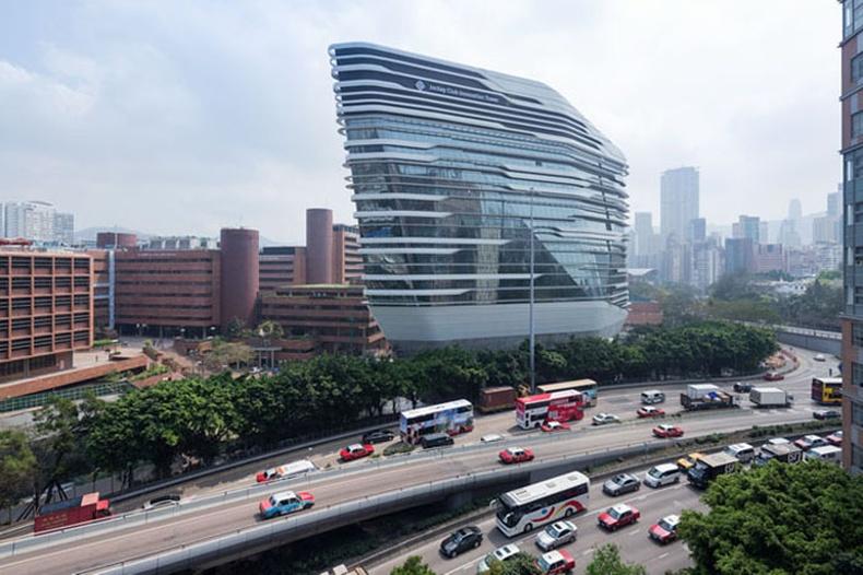 Хонгконгд баригдсан шинэ барилга