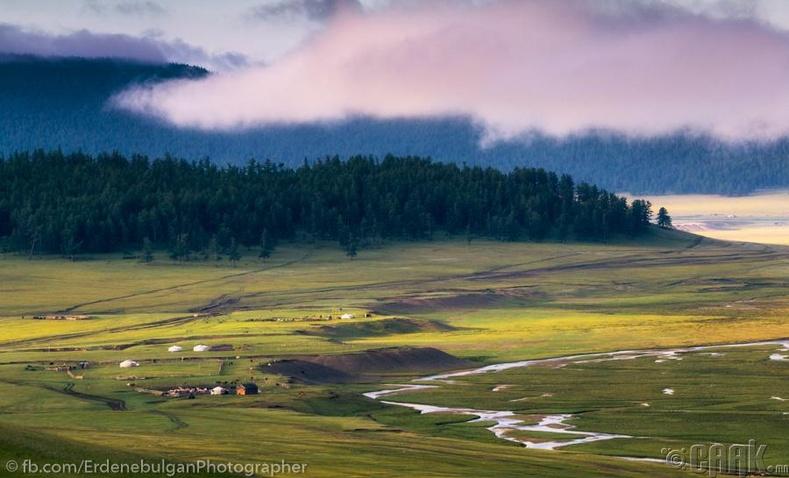 Монголын нэгэн өглөө