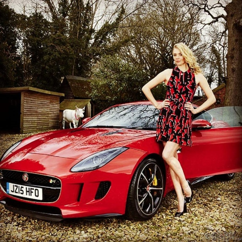 """Жоди Кидд (Jodie Kidd)- """"Jaguar F-Type"""""""
