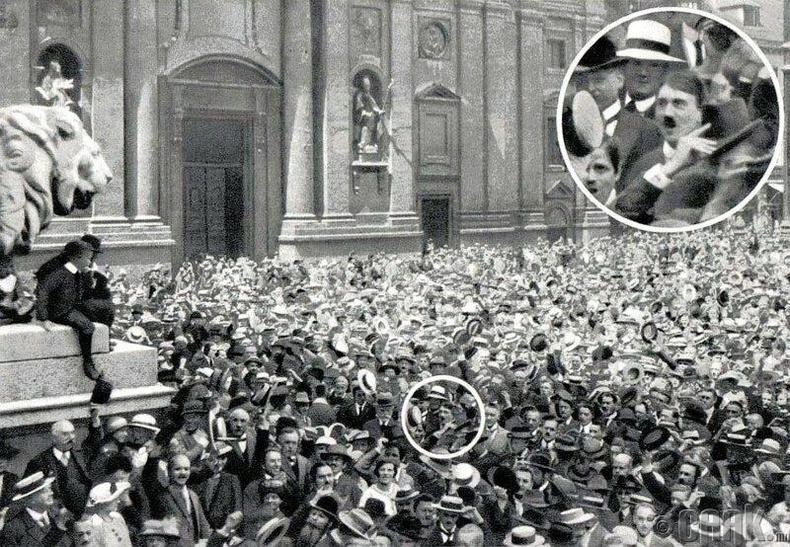 Адольф Гитлер-1914 онд Дэлхийн нэгдүгээр дайныг эхлүүлсэн Адольф Гитлер