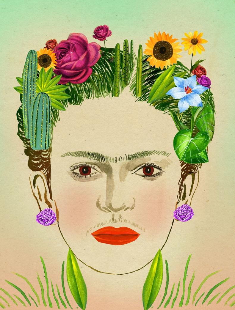 Фрида Кахло - Цэцэрлэгжүүлэлт