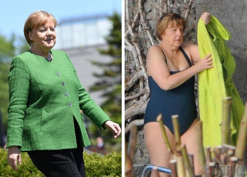 Ангела Меркель (ХБНГУ-ын канцлер)