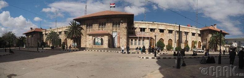 Алеппо хотын галт тэрэгний буудал