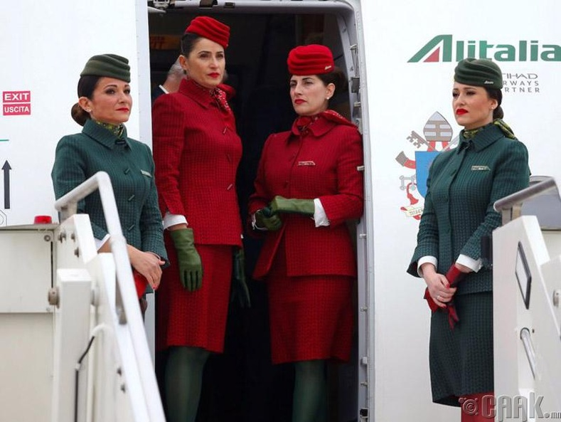 """Alitalia"", Итали"