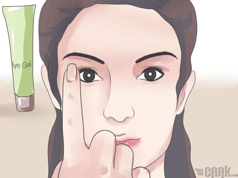 Нүдний массаж