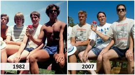 5 жил тутам ижил зургаа даруулдаг 5 найз