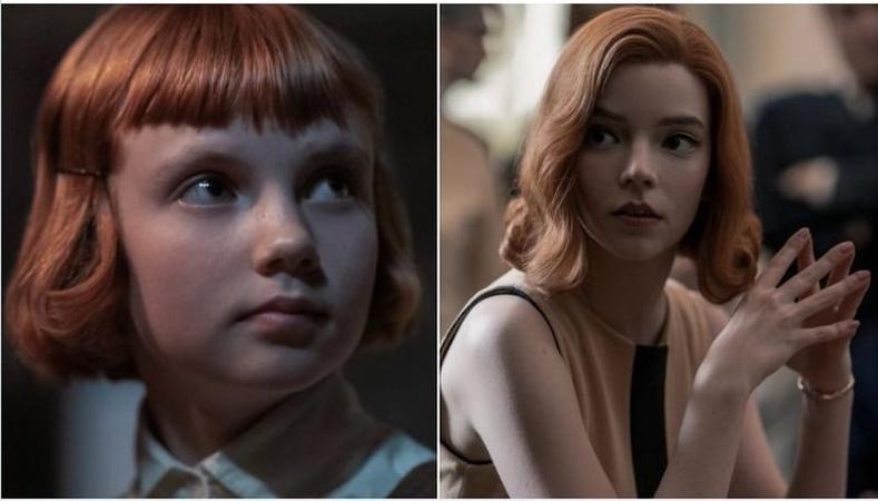 """""""The Queen's Gambit""""(2020) киноныЭлизабет Хармоны дүрээр Исла Жонстон, Аня Тейлор-Жой нар"""