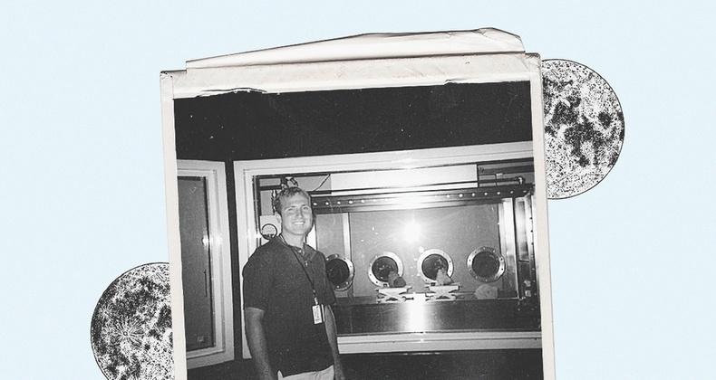 НАСА-гийн дадлагажигч сарны чулуу хулгайлсан нь
