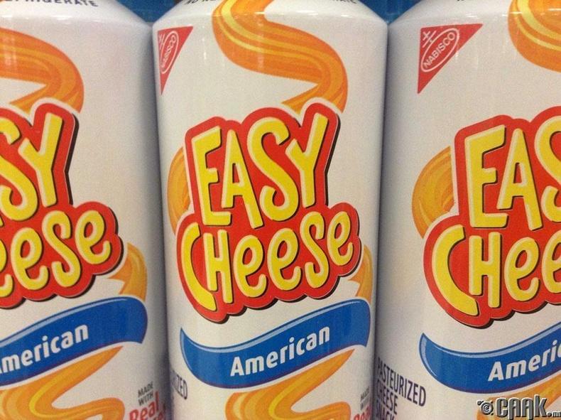 """""""Cheese Whiz"""" зөөлөн бяслаг"""