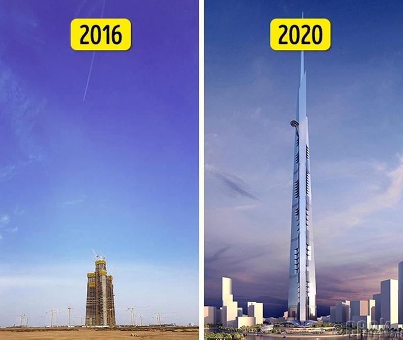 Дэлхийн хамгийн өндөр барилга баригдаж дуусна - 2020 он