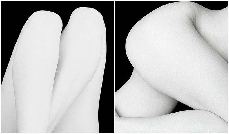 Нүцгэн биеийн гоо сайхныг сонирхолтой өнцгөөс буулгасан Франц гэрэл зурагчны бүтээлүүд (40 фото)