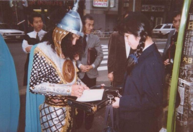 """""""Соёл-Эрдэнэ"""" хамтлаг Япон улсад. 90-ээд он."""