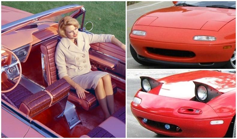 Хуучны автомашинуудад байсан сонирхолтой дизайн, нэмэлт тоноглолууд